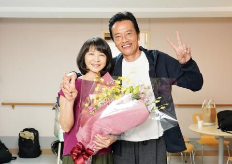 田中美里&田中美佐子がクランクアップ!遠藤憲一への思いを明かす