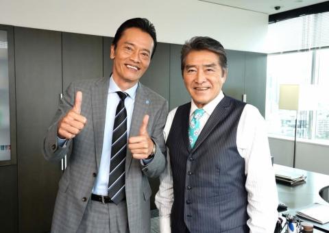 遠藤憲一のパワハラ上司役・目黒祐樹「非常に楽しかった。勉強もさせてもらった」