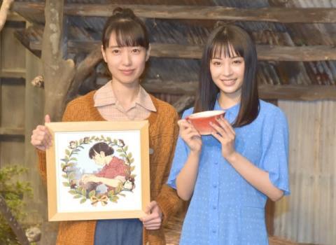 広瀬すずから戸田恵梨香へ「朝ドラ」バトンタッチ 戸田の手作りマグカップにすず感激