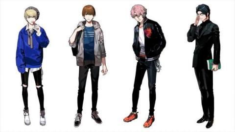 ドラマ『Re:フォロワー』西銘駿・塩野瑛久らメインキャストをイラスト化