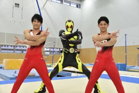 仮面ライダーゼロワンと体操日本代表がコラボ