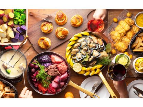 ラグビーW杯×食欲の秋!各国の料理をブッフェで楽しもう