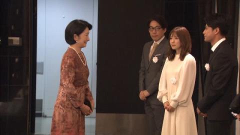 松岡茉優、紀子さまと映画鑑賞し「勝手にふるえてました」 不在の松坂桃李に「自慢しちゃおうかな」