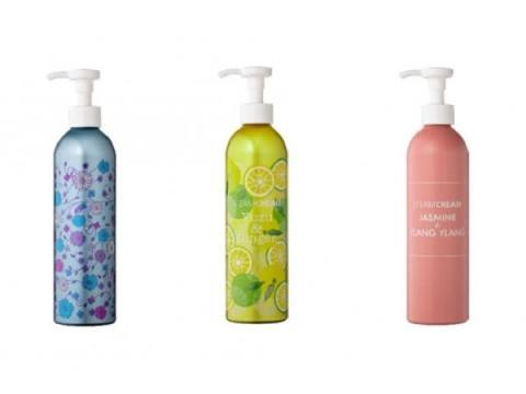 全身保湿できる「スチームクリーム」にボトルタイプ3種登場