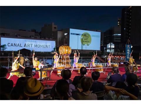 秋の夜長に水辺で楽しむ日本文化と極上の音楽 – 天王洲・キャナルアートモーメント2019