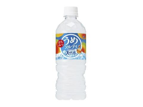 冬の水分補給に「サントリー天然水 はちみつうめソルティ」!