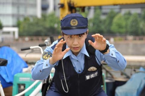 浜口京子、初挑戦の刑事ドラマで「気合いだ!」連呼 巡査の制服姿もお似合い