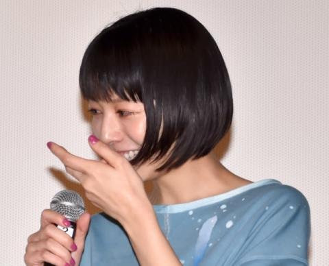 夏帆、主演作イベントで感涙も… 「泣いてねぇよ!」と強がり