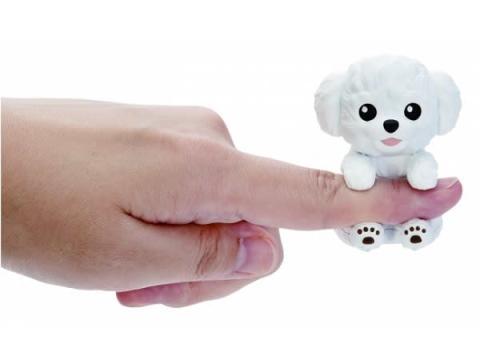 世界最小級のコミュニケーションできる玩具「ゆびわんこ」