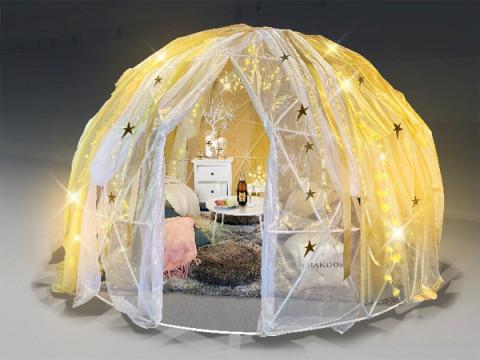 ロマンチックな空間でプレミアムなCHANDONを堪能しよう!