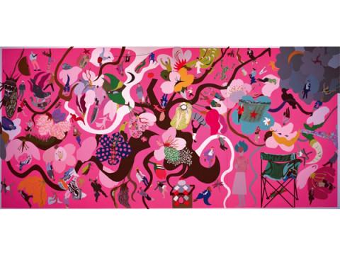 新潟県初!アーティスト「馬場まりこ」の作品展を開催