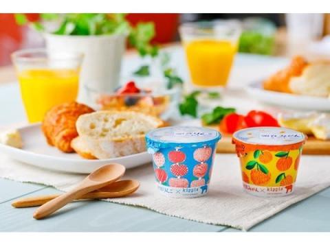 可愛い北欧デザインの「朝食りんごヨーグルト」が限定発売!
