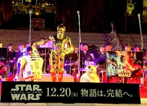 世界遺産・東大寺で『スター・ウォーズ』音楽奉納 「大仏様もお喜び」