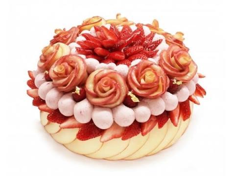 11月22日はいい夫婦の日!カフェコムサが「夫婦ショートケーキ」を発売