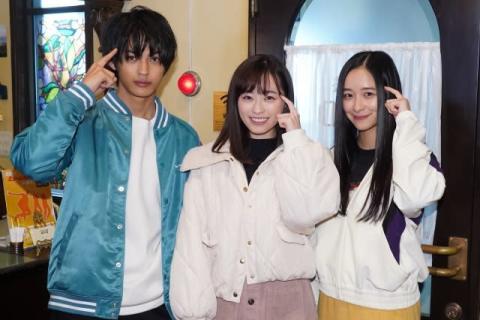 福原遥&神尾楓珠&堀田真由『3A』水泳部トリオ、別ドラマで同役