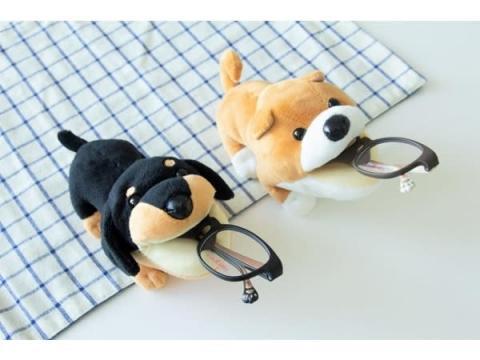 """寝落ちしても安心なメガネ「ねんころりん」の新シリーズは""""犬""""モチーフ!"""