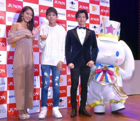 『ジュノンスーパーボーイ』史上最年少GP・渡邉多緒さん、人生初の囲み取材は武田真治とスクワットで締め