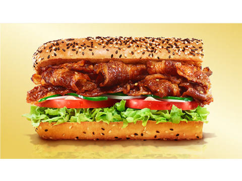 期間限定!野菜のサブウェイにガッツリ「牛カルビ」のサンドイッチが登場