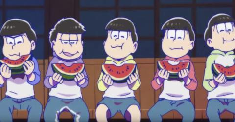 シリーズ・2010年代のアニメを振り返る [2015年編]  6つ子ニートが旋風を巻き起こす!