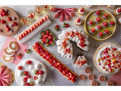 旬のイチゴを食べ尽くそう!「いちごだらけのデザートビュッフェ」を開催