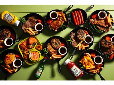 室内でワクワクキャンプ飯!新感覚のステーキ&ハンバーグ店が福岡にOPEN