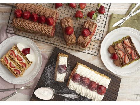 ショコラ味の新作も!「KIHACHIのナポレオンパイ」の季節が今年も到来