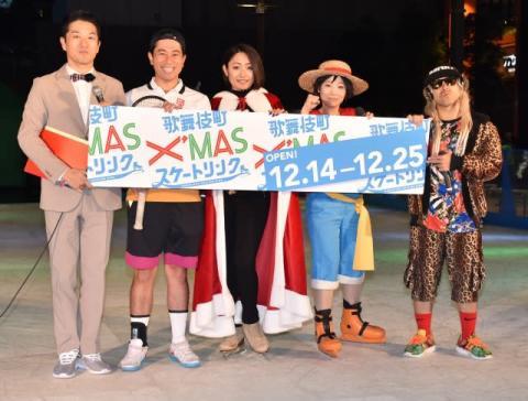 歌舞伎町に52年ぶりのスケートリンクが登場 安藤美姫も太鼓判「初心者に安全」