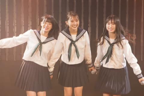 """NMB48 美少女3人組""""LAPIS ARCH""""お披露目「10代の中心的存在になれたら」"""