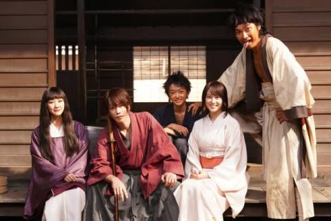 『るろ剣』最終章、神谷道場メンバー続投 武井咲「剣心にしか見えない健さんがいた」