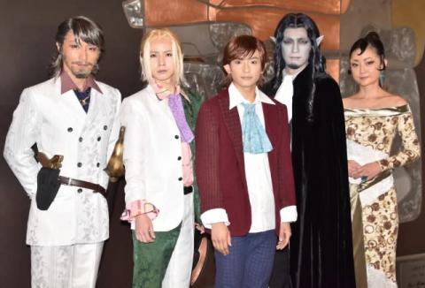 舞台『巌窟王』が開幕 主演・橋本祥平「2019年ラストにふさわしい作品にします」