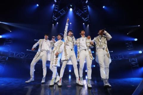 東海発5人組・Hi☆Five、Zepp Nagoyaでワンマン開催「夢の一つが実現した!」