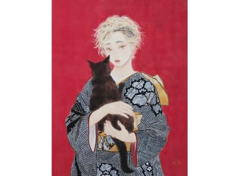 銀座 蔦屋書店で京都の現代作家による美人画展「令和・京・美人」開催