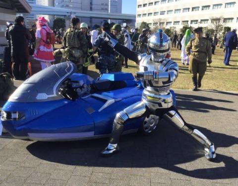 【コミケ97】ハイクオリティすぎる『宇宙刑事ギャバン』、制作半年のサイドカーに絶賛の声