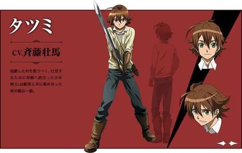 アニメ「アカメが斬る!」。少年剣士と殺し屋は国民を守るために今日も闘う