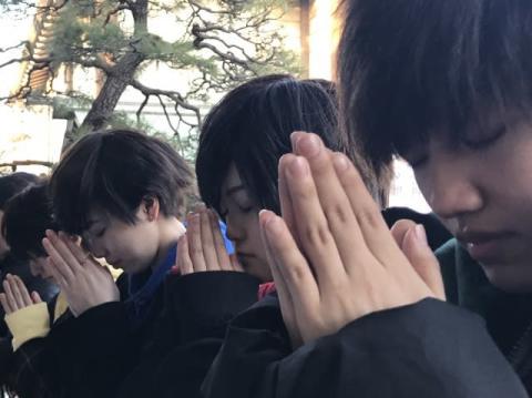 男装ユニット・EUPHORIA、伊勢山皇大神宮で「熱烈LOVE!!」ヒット祈願 「2020年の顔になる」