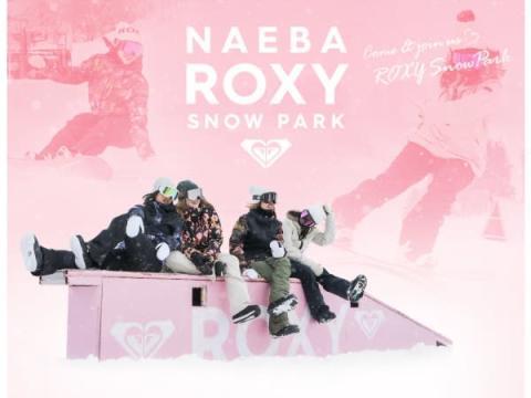 「苗場スキー場」に女性人気ブランド「ROXY」のスノーパークがオープン!