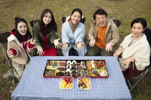 羽田美智子、キャイ~ン天野と夫婦役  『花嫁のれん』チームが集結