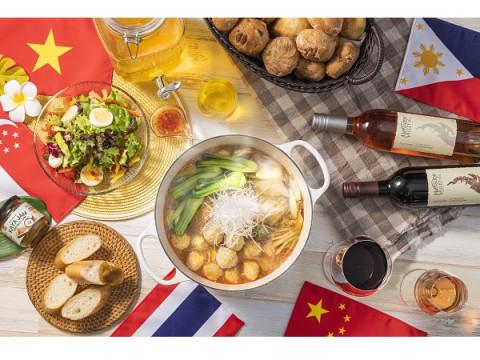 アジア旅行の気分が味わえる?! 各国の料理が集う「アジアフェア」開催