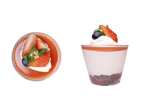 佐賀県産の『いちごさん』使用!ukafeで「イチゴのムース」が期間限定で登場