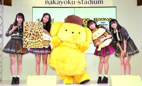 NMB48、ポムポムプリンと初コラボ 3月よりポップアップ店開催へ