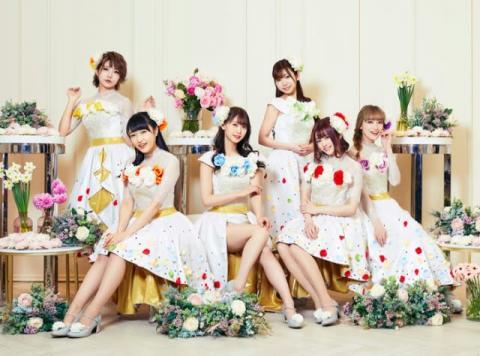 i☆Ris、白のドレス風ビジュアルで大人な一面 3・13アルバムの詳細公開