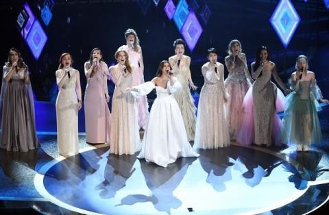 『第92回アカデミー賞』松たか子、世界9か国のエルサ役とともに熱唱