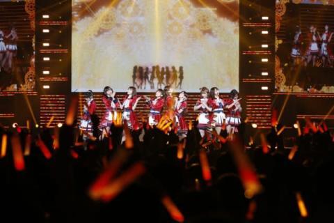 """μ's、4年ぶりステージをテレビ放送 新田恵海「""""大好き""""と""""楽しい""""を感じて」"""