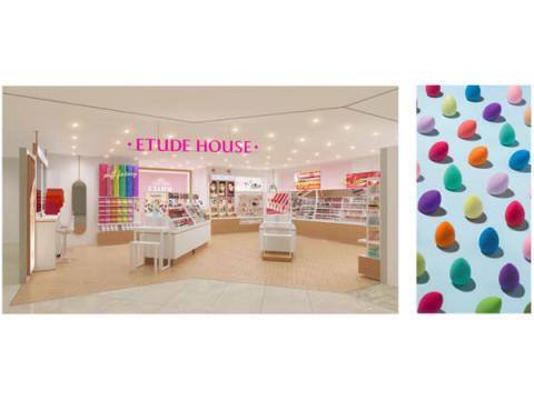 カラフルなパフでメイクを楽しもう! エチュードハウス「新宿ミロード店」が2月28日にオープン