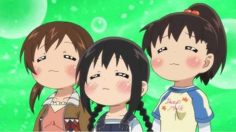 丸井家の女の子たちは全く似てない?「 みつどもえ 」の三つ子ちゃんたち