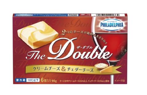 家呑みにもぴったり!2種のチーズをMIXした「フィラデルフィア」新商品が登場