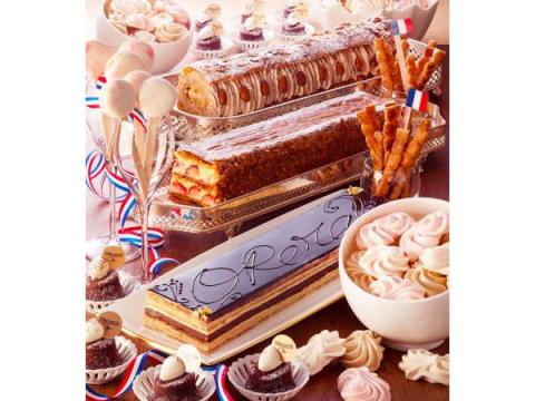 """テーマは""""フランス""""!毎回満席の大人気デザートブッフェが今年も開催"""