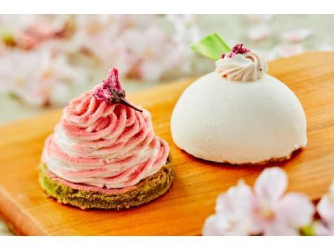 桜香る春限定ケーキ!「さくらモンブラン」&「さくらムース」登場