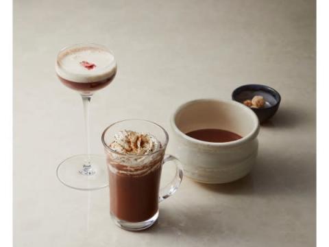 プロ仕様のスペシャリティチョコレートを使った3種の創作ドリンクが新登場