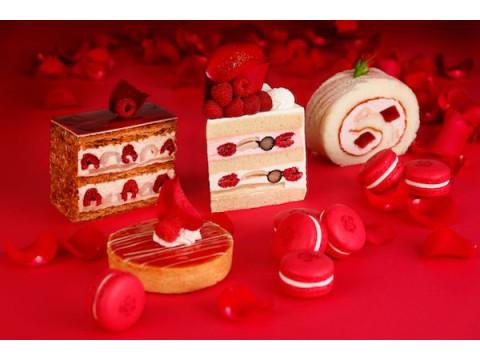 美味しさ真っ赤に咲き誇る!美しき新作「ローズスイーツ」を召し上がれ